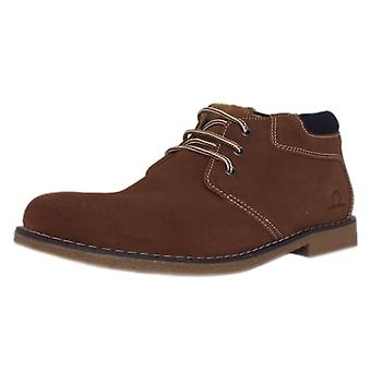 Chatham Tor Men's Desert Boots In Tan Brown Suede