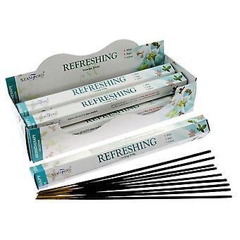 Stamford hex incense sticks - refreshing 6 supplied