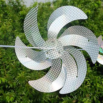 Anti Bird Laser Repeller Windmill (silver)
