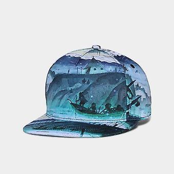 3d الطباعة الهيب هوب عالية الجودة قبعة القطن للرجال / النساء