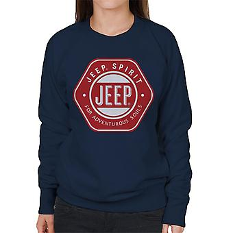 Jeep Spirit For Adventurous Souls Women's Sweatshirt