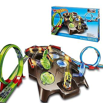 Wielen Rebound Raceway Play Set, Double Athletics Track Racing Toy