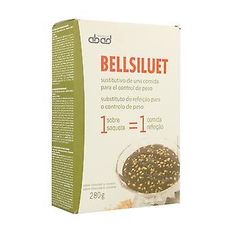 الشوكولاته الكسترد مع كروكانتي Bellsiluet 5 حزم