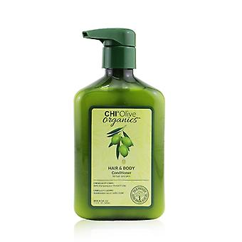 CHI Olive Organics Hair & Body Conditioner (For Hair and Skin) 340ml/11.5oz