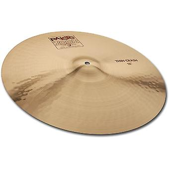 Paiste 2002 klassisk cymbal tynn krasj 16-tommers