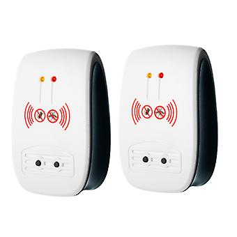 Ultrasonic Pest Repeller , Mice Control Electronic Insect Repellent 2 Pack
