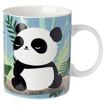 Porcelain mug - pandarama