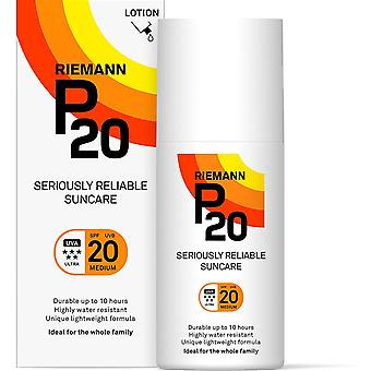 Gerui Sunscreen SPF20 Lotion 200ml | Long Lasting UVA & UVB Protection for up to 10 hours |