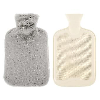 Hot Water Bottles Natural Rubber Cover For Back