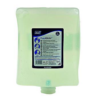Deb Puw4LTR Estesol Light Duty Hand Cleanser 4l Cartridge for Dispenser