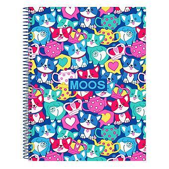 Livre des chats d'anneaux Moos A4