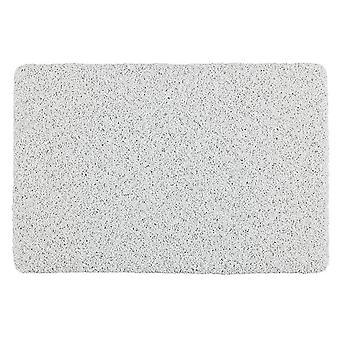 badmat Lus 40 x 60 cm PVC wit
