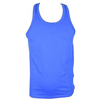 DSQUARED2 Intimo Basic Blue Tank Top