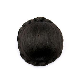 High Temperature Curl Synthetic Hairpiece Curly Hair Bun