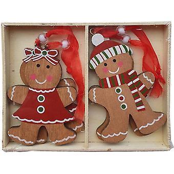Heaven Sends Hanging Gingerbread Decorations
