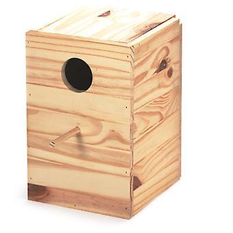 Arquivet Houten Nest Nimfen (Vogels , Accessoires voor kooien , Nesten en Toebehoren)