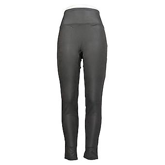 All Worthy Hunter McGrady Leggings Ultimate Faux Leather Gray A387467