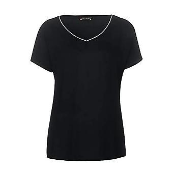 Street One Ianda T-Shirt, Black, 40 Woman