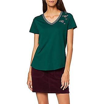 Garcia J90212 T-Shirt, Green (Botanical 2366), 40 (Size Manufacturer: X-Small) Woman