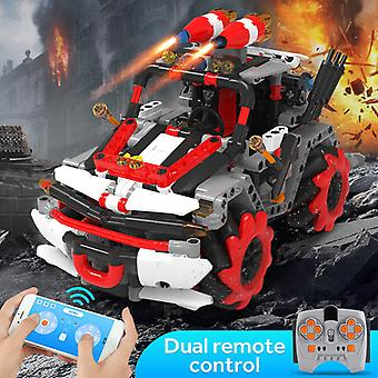Kaiyu City Offroad  Electric APP Remote Control Technical RC Vehicle Bricks Toys For Children Blocks