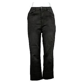 DG2 by Diane Gilman Women's Jeans Reg Stretch Boot-Cut Black 740965