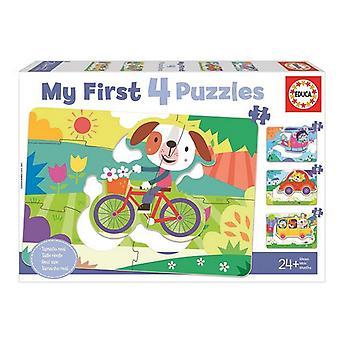 Puzzle Educa 5-6-7-8 Arabalar (48 adet)