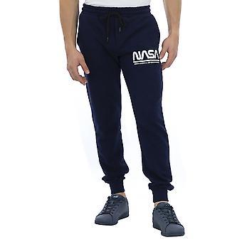 Nasa Men Pants Regular fit Ankle length  Blue