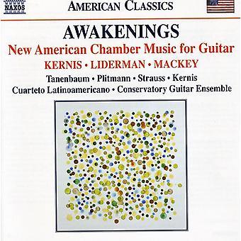 Kernis/Liderman/Mackey - Awakenings: New American Chamber Music for Guitar [CD] USA import