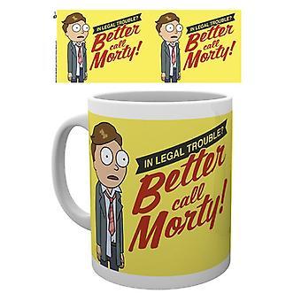 Rick e Morty meglio chiamare Morty Mug
