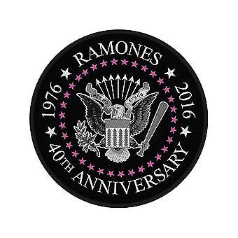 Ramones - 40th Anniversary Standard Patch