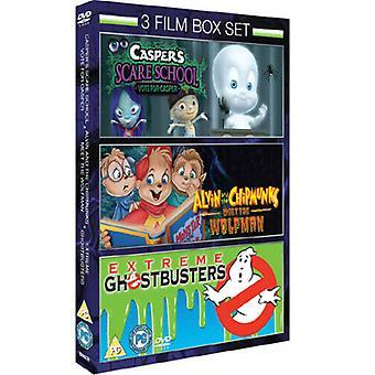 Caspers Assustam SchoolAlvin e os Esquilos Conheçam o ... DVD (2010) Mark Região 2