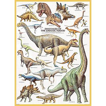 Eurographics Dinosaurs of the Jurassic Period Jigsaw Puzzle (1000 Pièces)