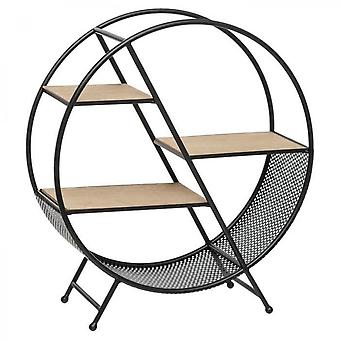 Timeo Round Metal Shelf