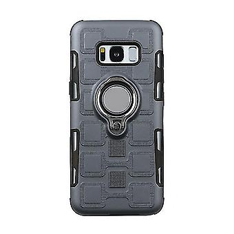 TPU shell case with stand for Samsung Galaxy A5 2017 - Gray
