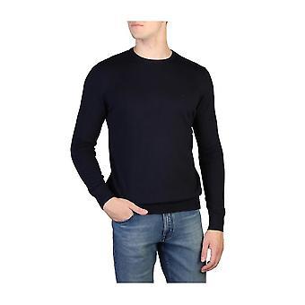 Calvin Klein -BRANDS - Vaatteet - Villapaita - J30J305908-402 - Miehet - laivasto - XXL