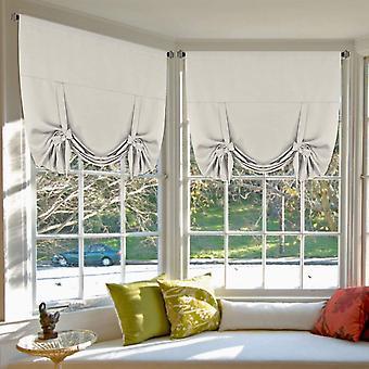 Copia de 2x cortinas romanas atar cortinas para cortinas de apagón de ventanas pequeñas roda cortinas de ventanas de bolsillo / sombra, beige