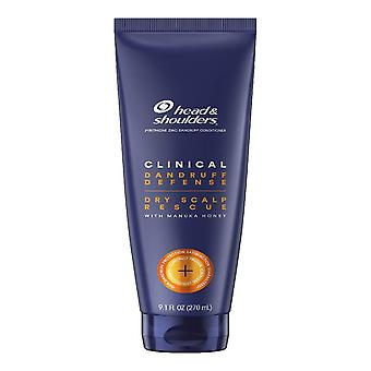 Head and shoulders dandruff conditioner, clinical dry scalp rescue, 9.1 oz