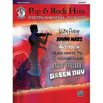 Pop & Rock Hits Instrument Solos Tsax/Cd