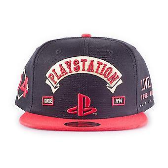 Playstation Biker Snapback Baseball Cap