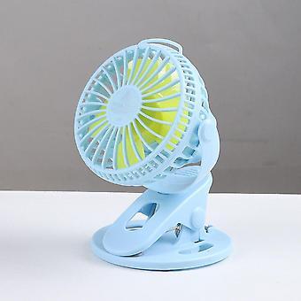 Mini fans portable usb table fan clip-on type rechargeable cooling mini desk fan
