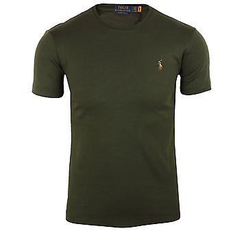 Ralph lauren men's olive pima t-shirt