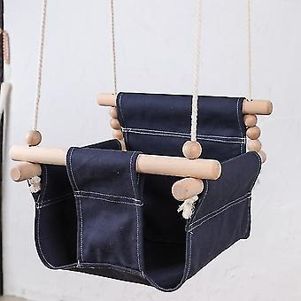 Baby Swing stol Hängande Trä - Dagis Leksak