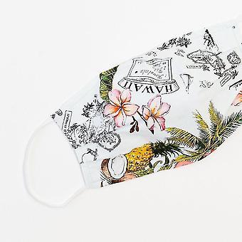 Medical masks vintage hawaii large face mask sm117367
