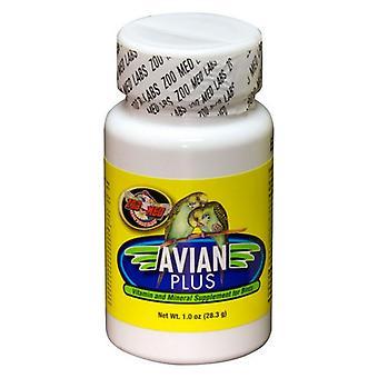 Zoo Med Avian Plus Bird Supplément de vitamines - 1 oz