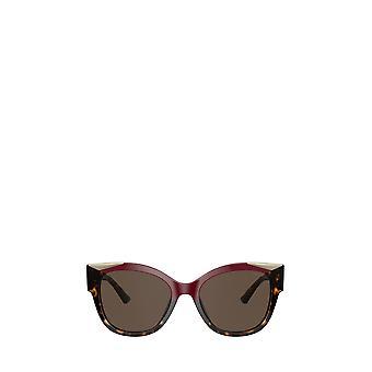 Prada PR 02WS cherry / dark havana female sunglasses