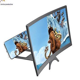 חדש מסך מעוקל מסך טלפון נייד מגבר מתקפל מעוקל טלפון נייד HD הקרנה זום