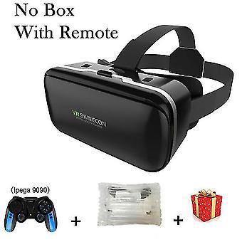 Vr shinecon 6.0 casque gafas de realidad virtual 3d 3d gafas casco auricular para iphone android