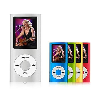 Mp3 / Mp4 Player, 16gb  Portable Digital Music Player Also Used As Voice Record / Fm - Radio / Video - White
