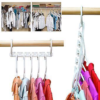 Säästäminen Tila Monitoimi magic wonder kaappi järjestäjä ripustin vaatteet 8kpl