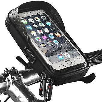 "sykkel styret telefonholder pose 360 roterbar berøringsskjerm sol visir, under 7 "" smarttelefon"